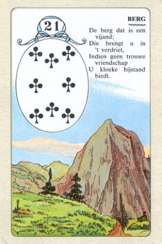 Значения карт: Колода Ленорман, н