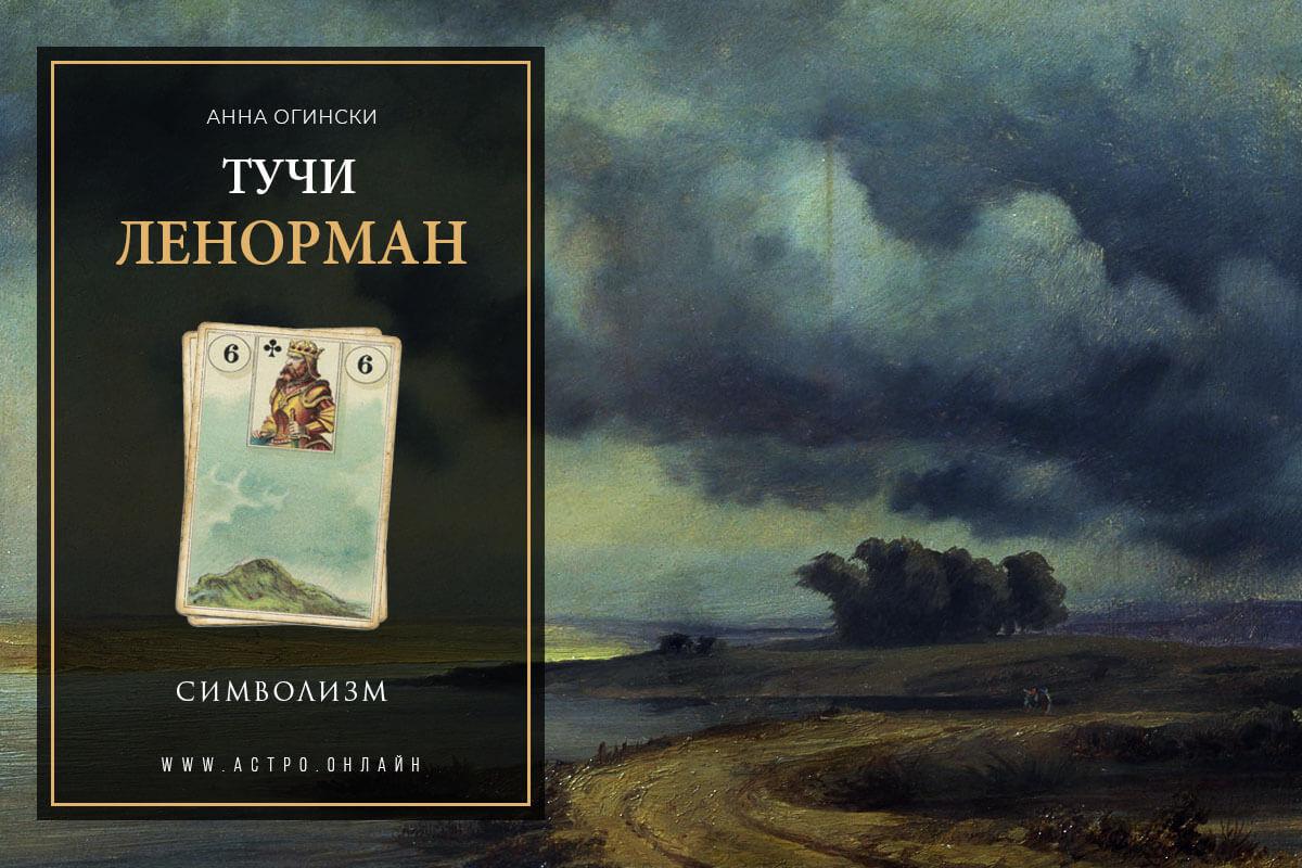Символизм по карте Тучи в Ленорман