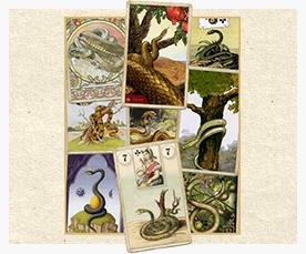 Зачение карты Ленорман: Змея