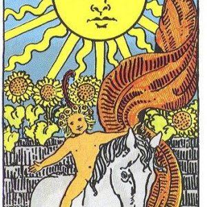 Солнце Таро Райдера-Уэйта