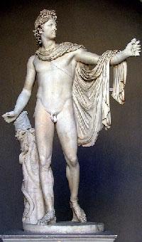 Аполлон Бельведерский, 330г до н.э