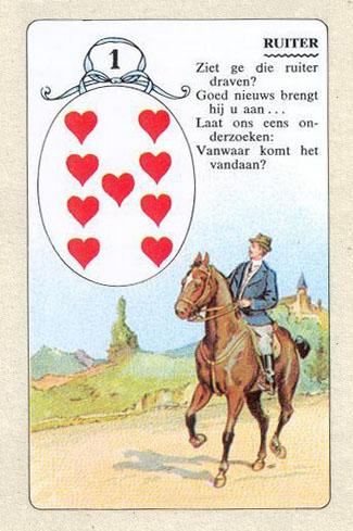Ленорман, Всадник