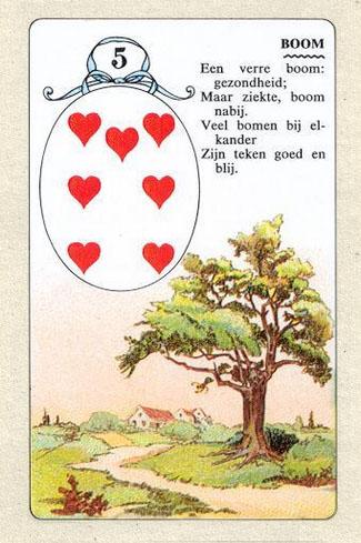 Ленорман, Дерево