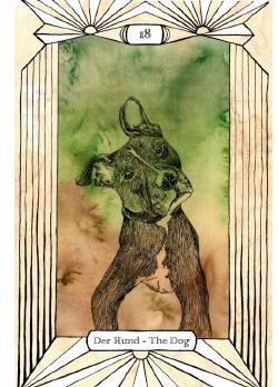 Ленорман, Собака (10 Червей)