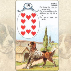 Значение карты Ленорман: Собака