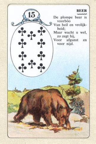 Ребенок медведь ленорман