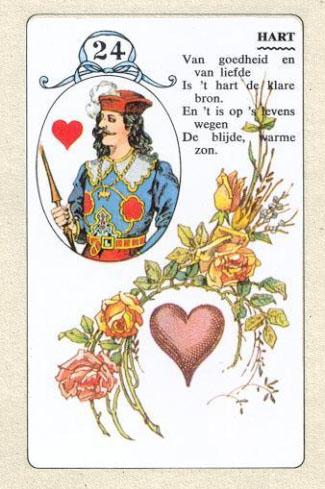 ленорман всадник сердце букет