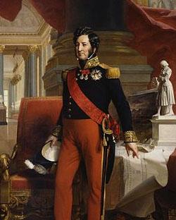 король Луи-Филипп