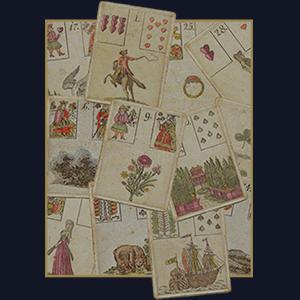 Прототип колоды карт Ленорман