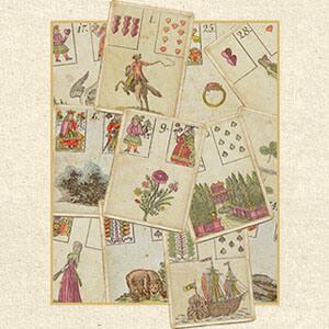 Прототип колоды карт: Ленорман