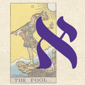 Символ Буквы Алеф в аркане Шут