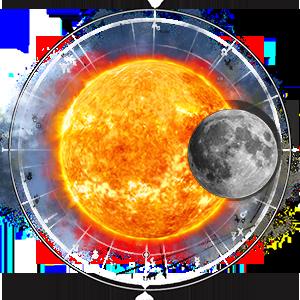 Cолнечный и лунный знак, Асцендент и МС