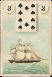 Пример карты Малой колоды Ленорман