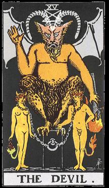 Таро: аркан Дьявол