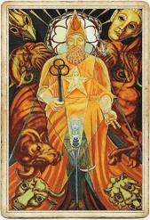 Таро Тота, Иерофант, Жрец