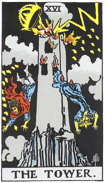 Таро: аркан Башня