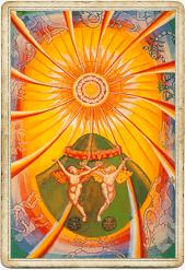 Таро Тота, Солнце