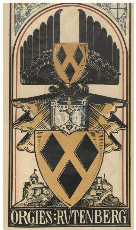 масть Бубны на рыцарском гербе