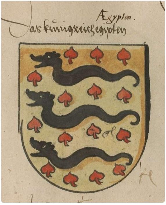 Масть Пики на рыцарском гербе