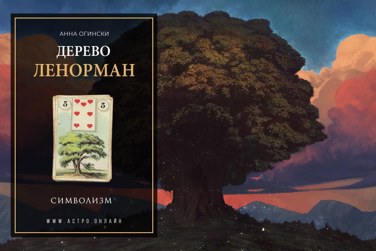 Символизм по карте Дерево в Ленорман