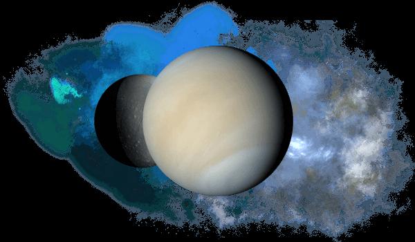 Квадрат Венеры к Плутону