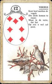 Ленорман Птицы, Совы