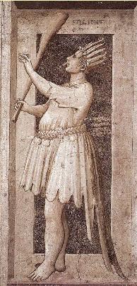 Прообраз картина Джотто «Аллегория глупости»