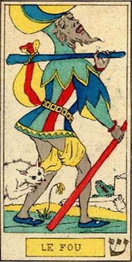 Дурак в Таро Освальда Вирта 1889 Год