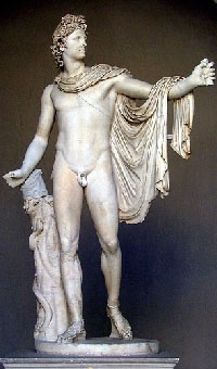 Аполлон Бельведерский 330г до н.э