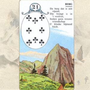 Коллаж карты Гора Ленорман
