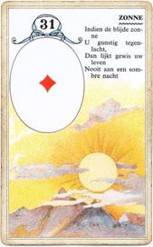 Ленорман Солнце